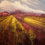 Orchard I - Marie Cameron oil 20 X 20 2014 sm