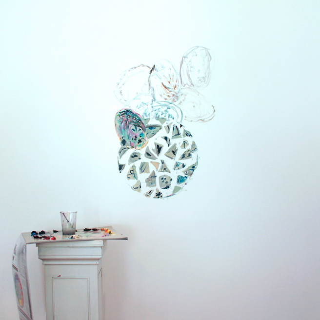 Alones Point Abalone (in progress)  2 - Marie Cameron - 2014
