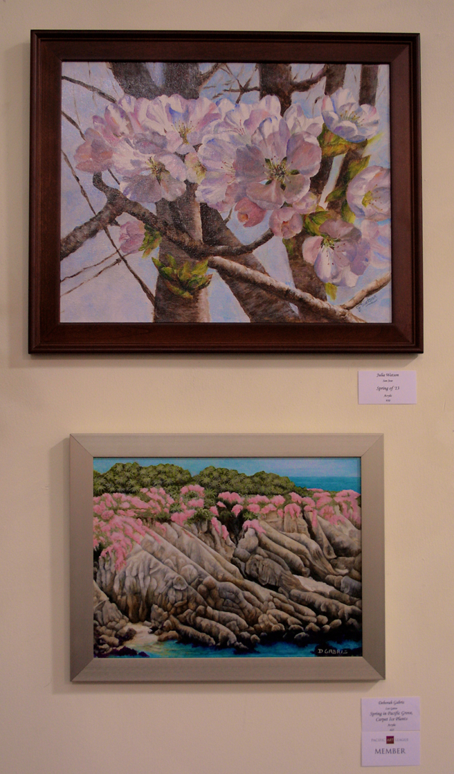 Spring Awakening PAL 2014 - paintings by Julia Watson and Deborah Gabris