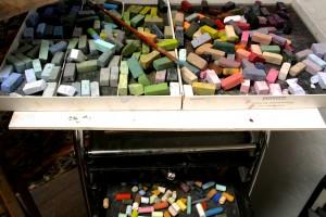 SVOS 2014 - Stacey Nussbaum - ( Site 186) pastels