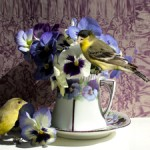Pansy Tea Prototype 1  - Marie Cameron 2014 web sm