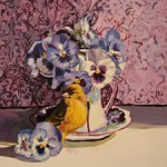 Pansy Tea WIP 6 - Marie Cameron 2014 sm