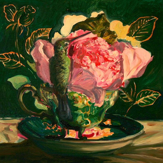 Rose Tea WIP 7 - Marie Cameron 2014