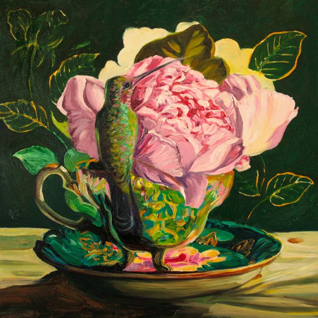 Rose Tea WIP 9 - Marie Cameron 2014