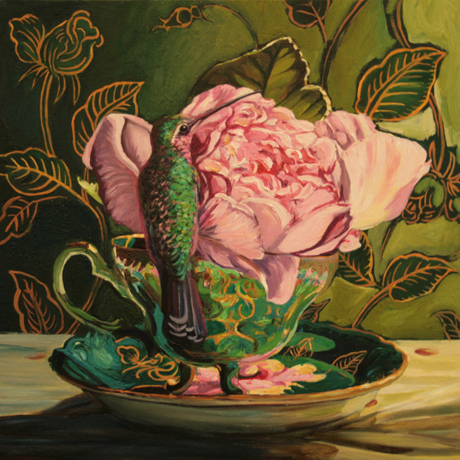 Rose Tea WIP 10 - Marie Cameron 2014
