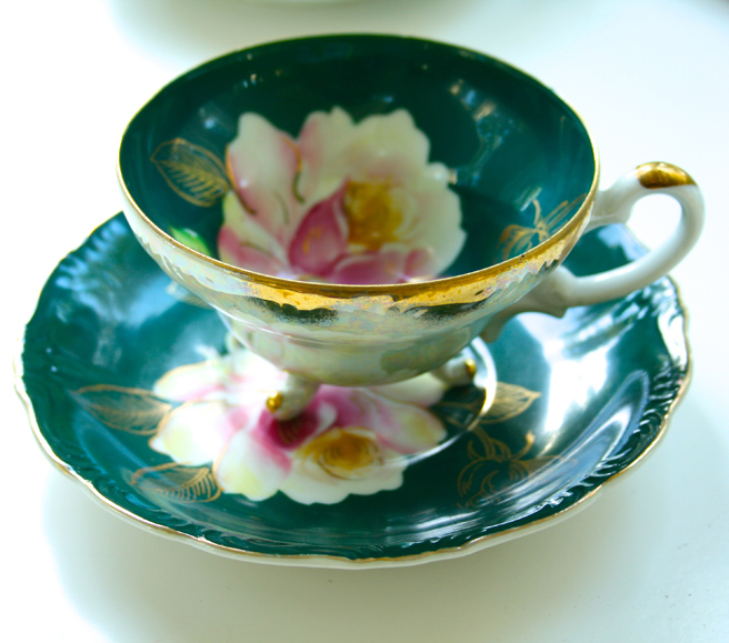 Rose Teacup - photo Marie Cameron 2013