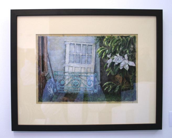Doreen Barton  Gate and Door  Pastel