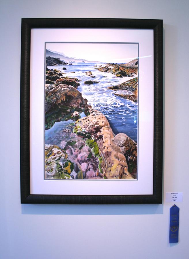 Mark Garner  The Slot  Watercolor