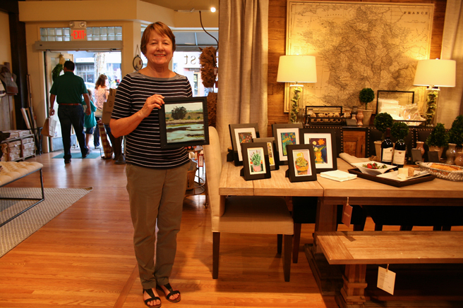 Carol Bower at Harvest - Art Walk