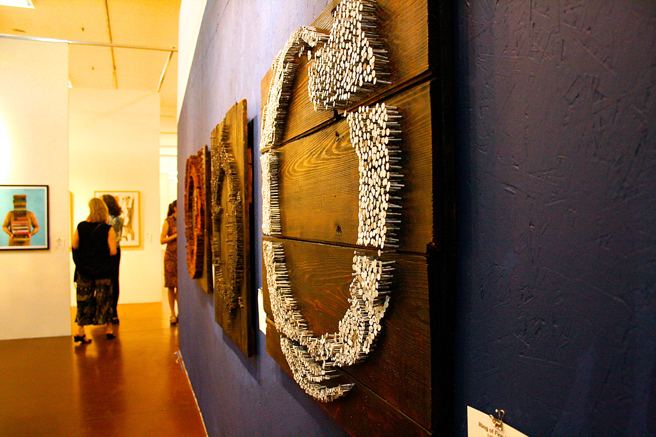 Art Party SJ -Kebe Konte's rings of Fire- photo Marie Cameron