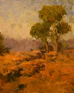 PAL Grand Opening Reception 9:14 - Patricia Jones, Windy Day, Oil