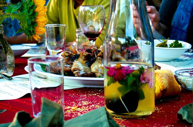 Eco Feast at Love Apple Farm  - Marie Cameron 2013