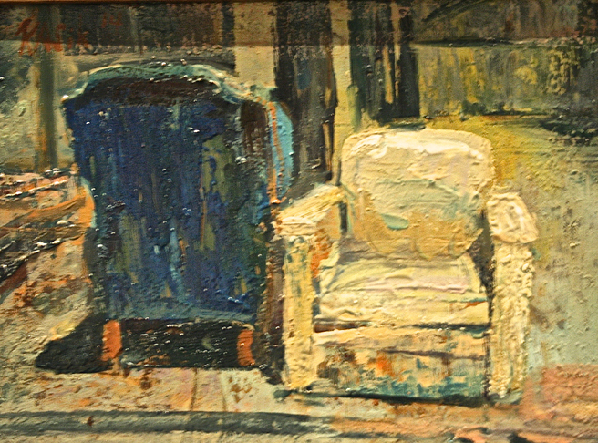 Kevin Kasik - Abondoned Chairs