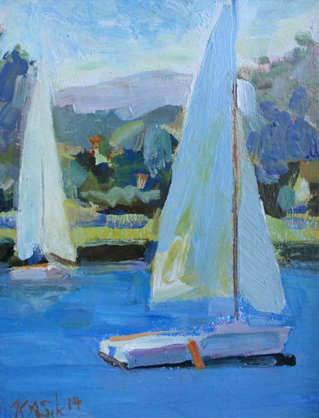 Kevin Kasik - Sail Boats