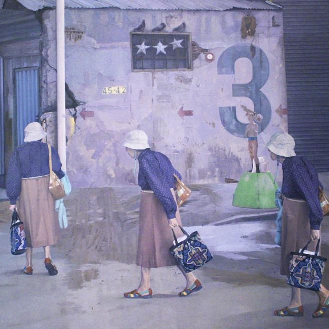 PAL Land, Sea and Urbanscapes 10-14 -  Archil Pichkhadze, Three, Oil