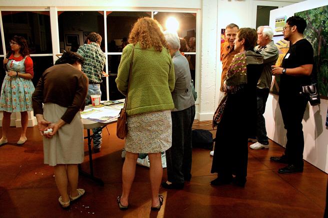 PAl 10-14 Steve Curl Demo Crowd
