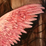 Training Wings - Marei Cameron 2014 oil  web sm