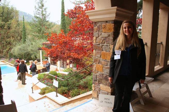 Homes for the Holidays - Child Advocacy Supervisor Ninet - photo Marie Cameron 2014