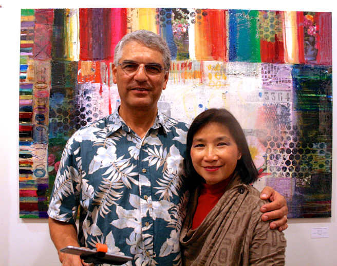 PAL - Science, Technology and the Furture of Art 11-14 - Ron and Mei-Ying Dell'Aquila 1- photo Marie Cameron