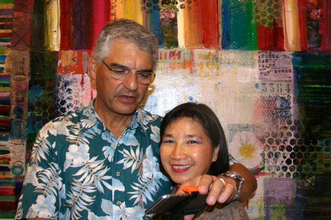 PAL - Science, Technology and the Furture of Art 11-14 - Ron adn Mei-Ying Dell'Aquila 2- photo Marie Cameron