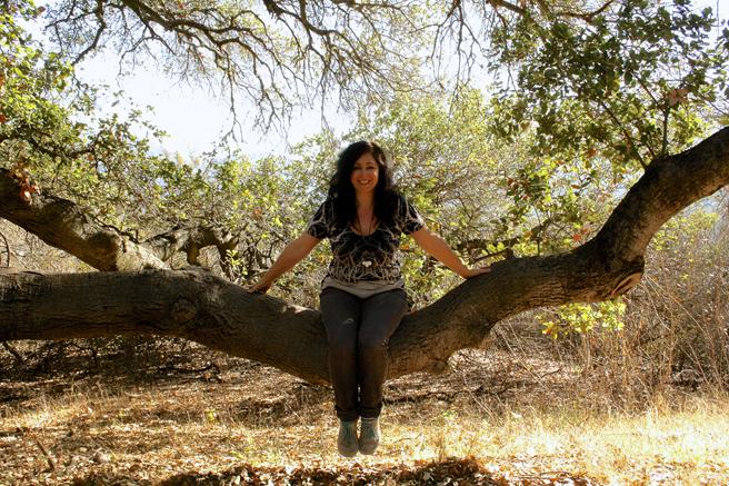 Picchetti me in a tree - photo OP 2014