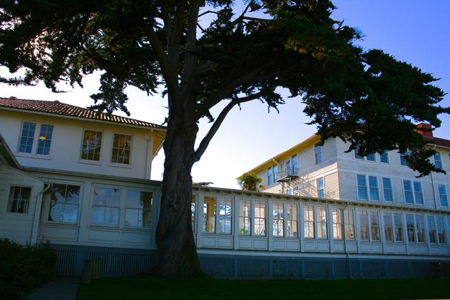 Presidio buildings - photo Marie Cameron 2014