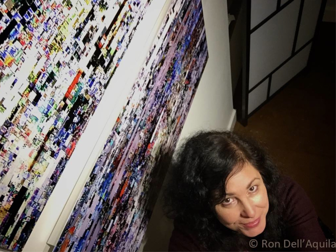 Ron Dell'Aquilla's Marie Cameron Selfie with Shimmering Water and Lavender Lake PAL 2014