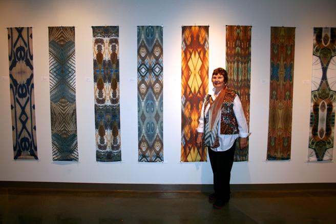 Monumental Fiber - Vargas Gallery 2015 - Dotti Cichon - photo Marie Cameron