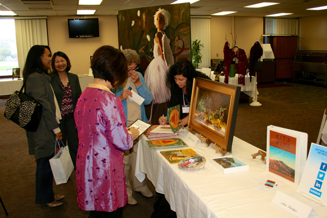 NLAPW Celebrity Luncheon 2015- Book Signing