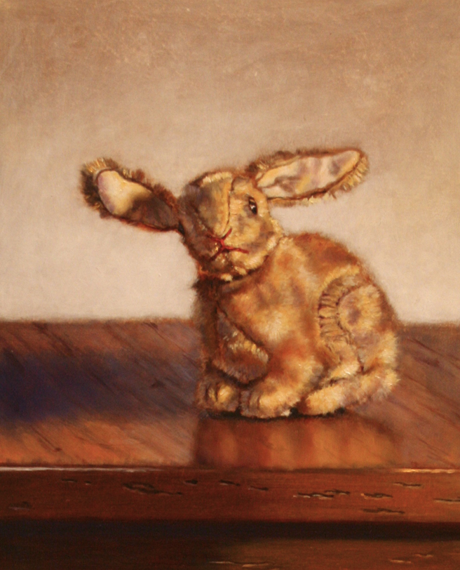 Fins, Feathers and Fur - Maura Carta, Rabbit, Oil - photo Marie Cameron 2015