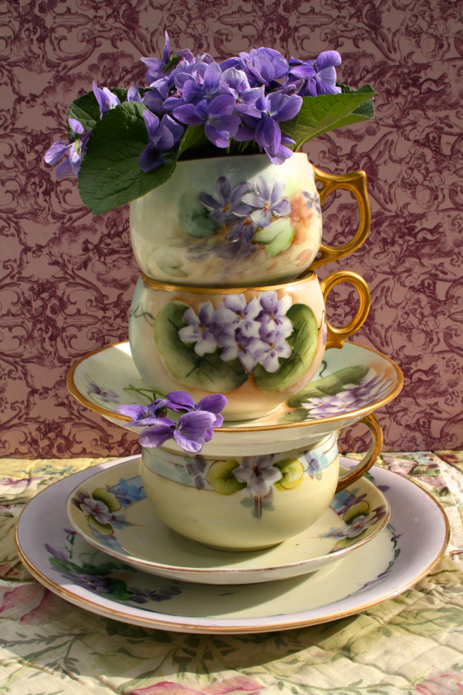 Violet Tea stack - Marie Cameron 2015