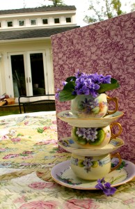 Violet Tea stack by the studio- Marie Cameron 2015