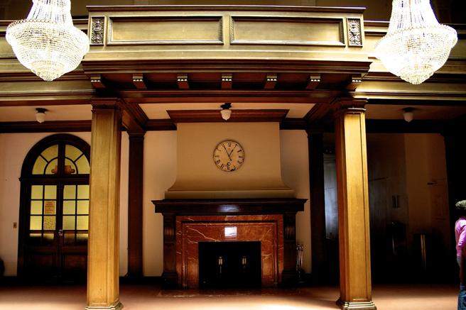 Lobby, Le Petit Trianon Theater - Marie Cameron 2015