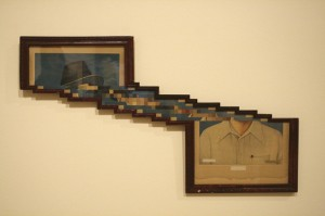 Nandan Ghiya - Download Error-  2012 - photographs, acrylic and frames -  SJMA