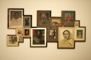 Nandan Ghiya - Female Indroid Album 2012 - photographs, acrylic and frames -  SJMA