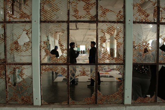 Trace - Ai WeiWei At Large - through the glass