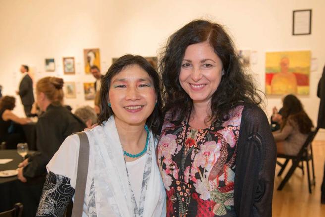 Triton's Golden Gala - Mei-Ying Dell'Aquila and Marie Cameron - photo by Ron Dell'Aquila 2015