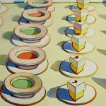 Wayne Thiebaud - Lunch Counter 1964 (detail) Anderson Collection - Stanford - photo Marie Cameron 201 sm5