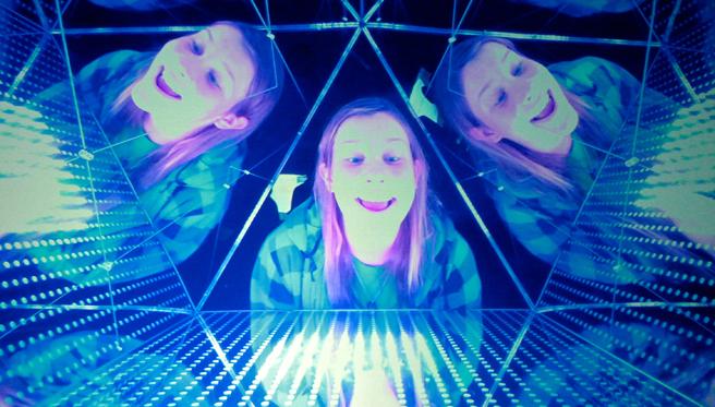 Maker Faire - Kaleidoscopic Projection - photo Marie Cameron 2015