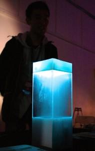Maker Faire - Weather Forcast Box - photo Marie Cameron 2015