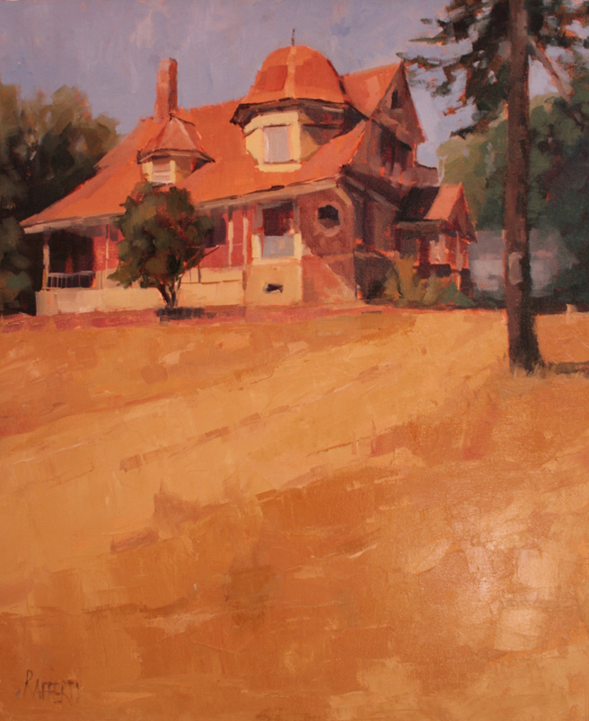 Plein Air 2015 - Carole Rafferty, Golden State - photo Marie Cameron 2015