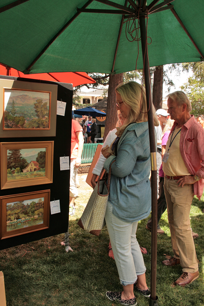 Plein Air 2015 - David Stonesifer - photo Marie Cameron 2015