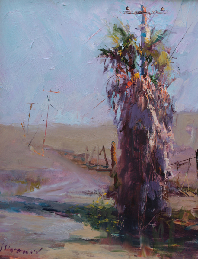 Plein Air 2015 - Nancy MacDonald, title unavailable - photo Marie Cameron 2015