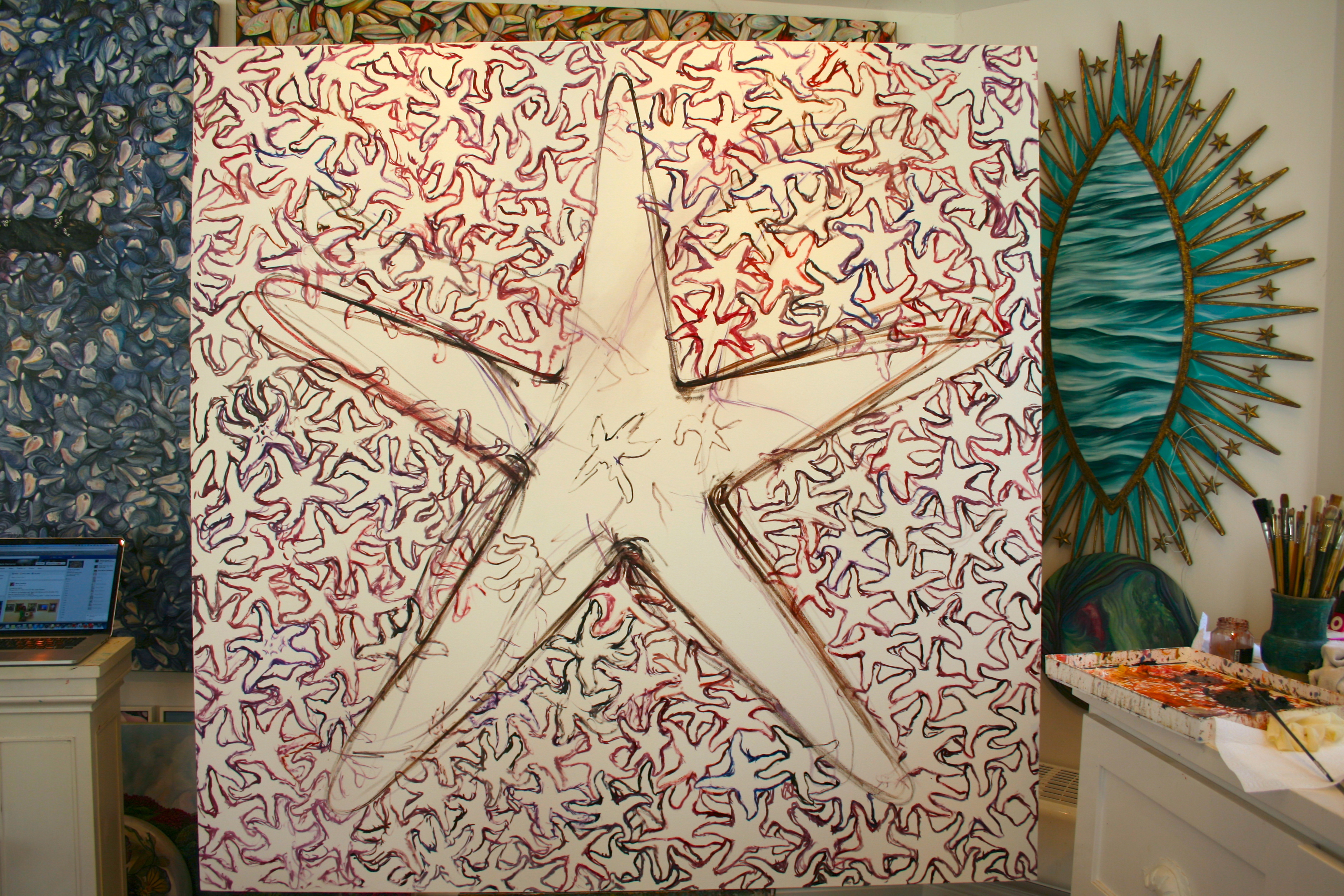 Seeing Stars 1 - Marie Cameron  2015