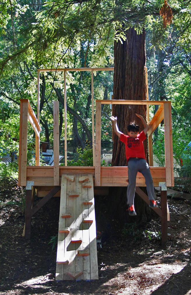Treehouse Camp, Montalvo - photo Marie Cameron 2015