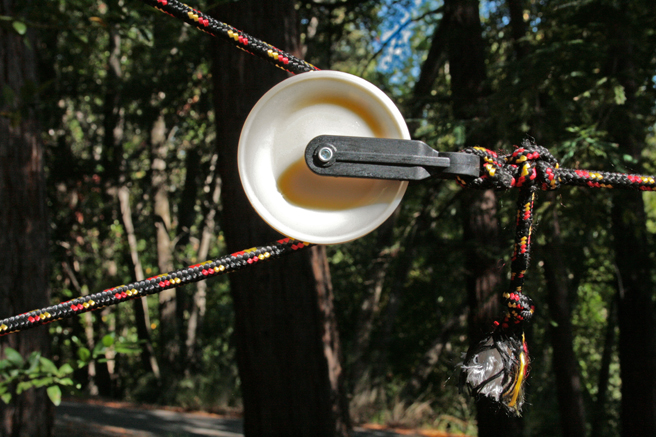 Treehouse Camp Pulley
