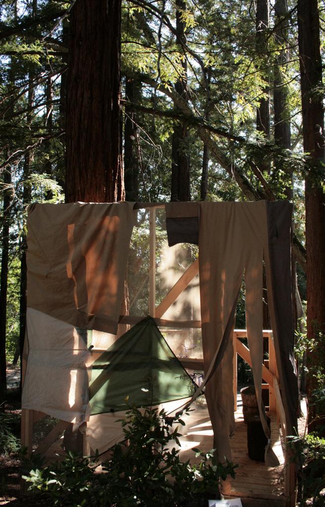 Treehouse Camp - Tarps Up - photo Marie Cameron 2015