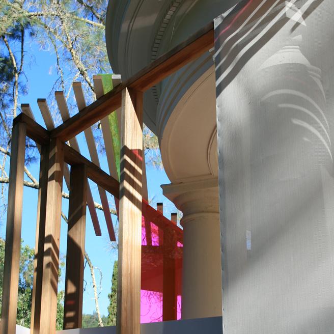 Untitled (Belvedere Temple) Justin Lowman - Montalvo - photo Marie Cameron 9 2015