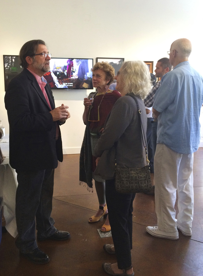 Figures and Faces PAL 2015- Ric Ambrose, Diane Abt, Lin Fischer - photo Marie Cameron