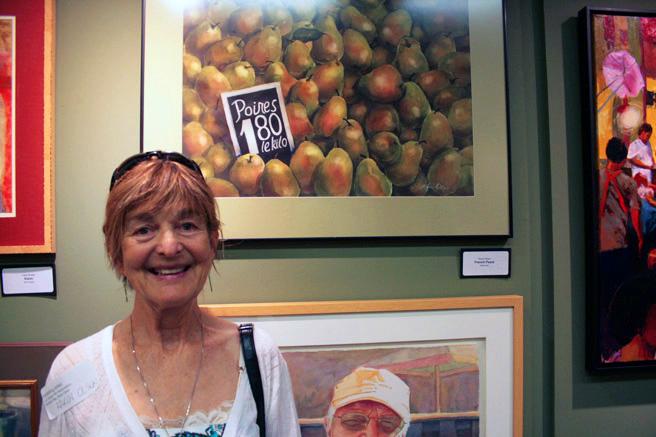 GBAO - Karen Olsen - French Pears - Watercolor - NUMU -2015
